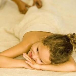 Тайский массаж детям