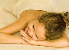 Детский oil массаж