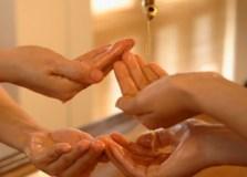 Ойл массаж в 4 руки